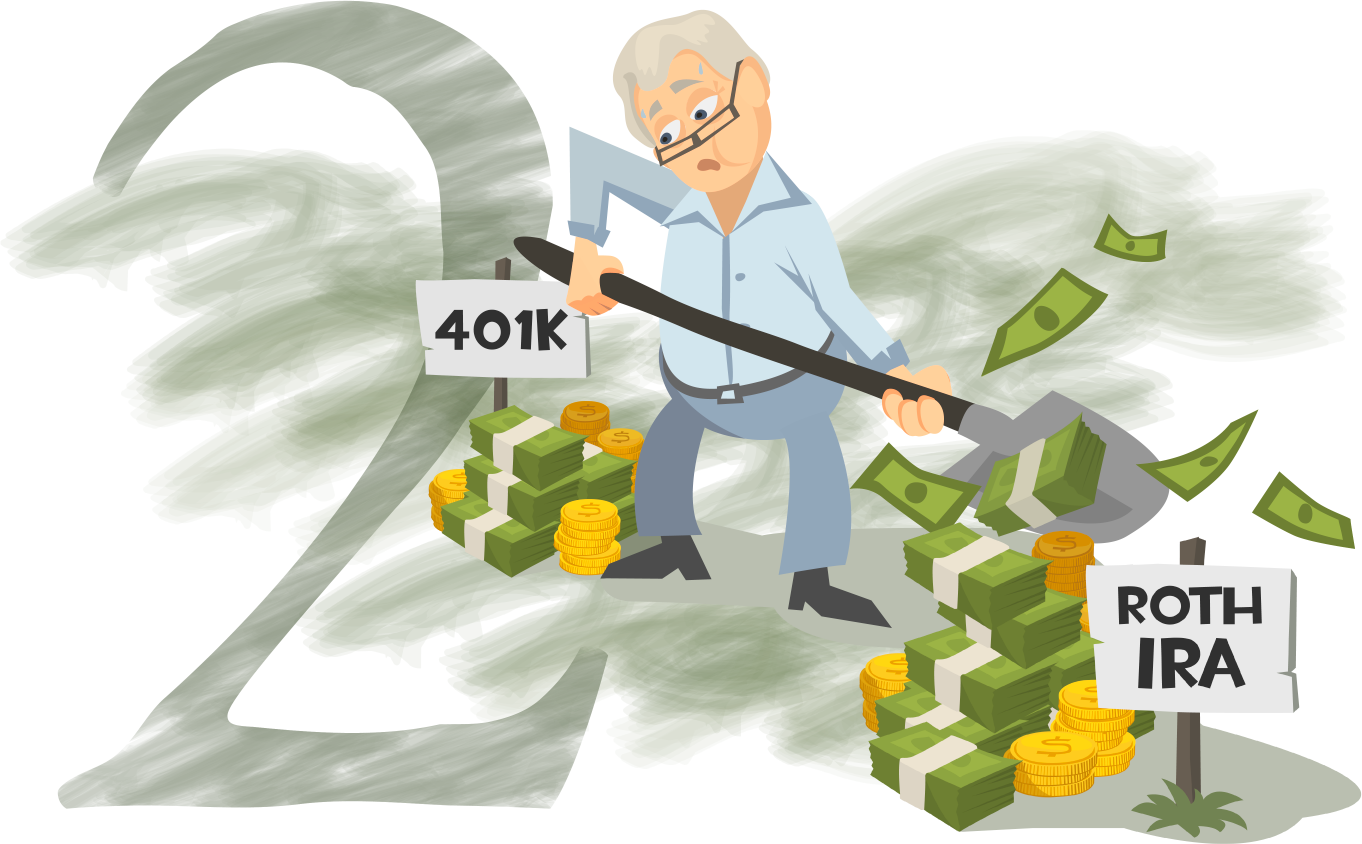Transition Funds from a 401K to a Roth IRA